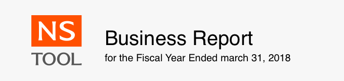 Business Report for Fiscal Year Ended March 13, 2018